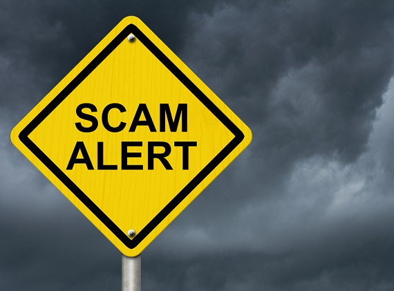 Be on your guard for coronavirus scammers, skimmers & phishers!